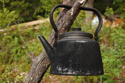 Cafetera antigua
