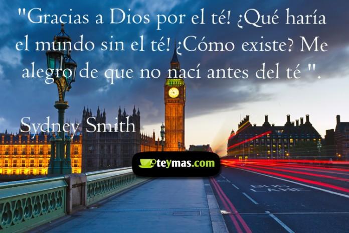 Frases de té Sydney Smith