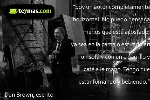 Frase Cita De Dan Brown Sobre El Café