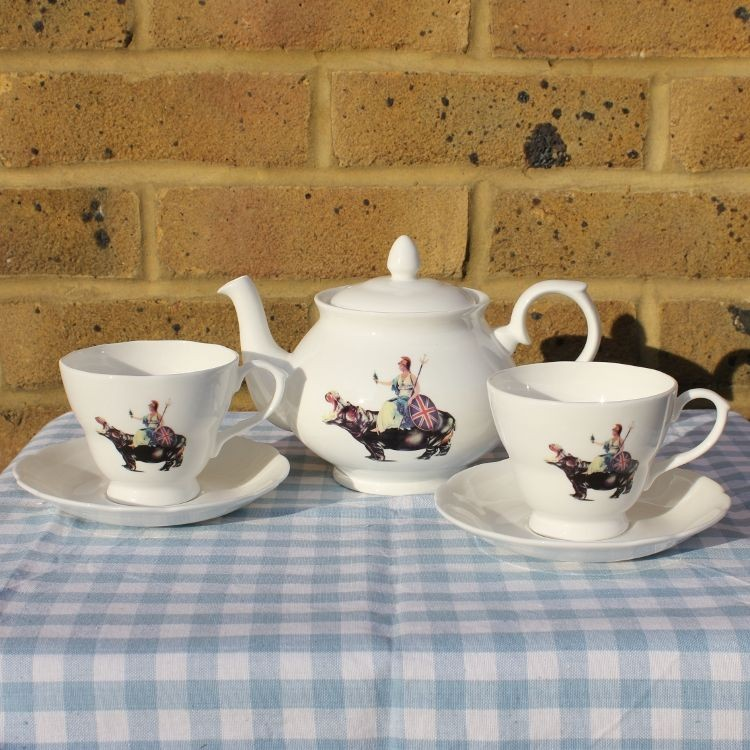 Britanian Tea Set de Blur