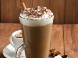 Batido de café y vainilla