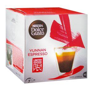 Café en cápsulas Yunnan de Dolce Gusto