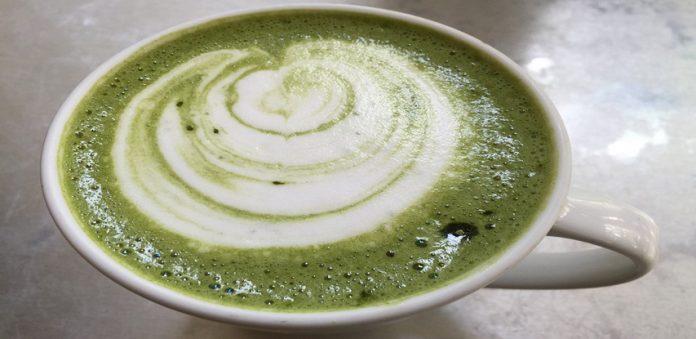 Receta para preparar matcha-latte